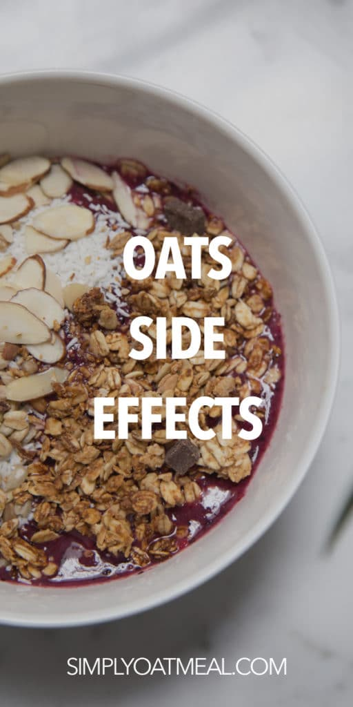 The side effects of oats that you need to be aware of.