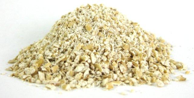 Scottish oats on a flat surface