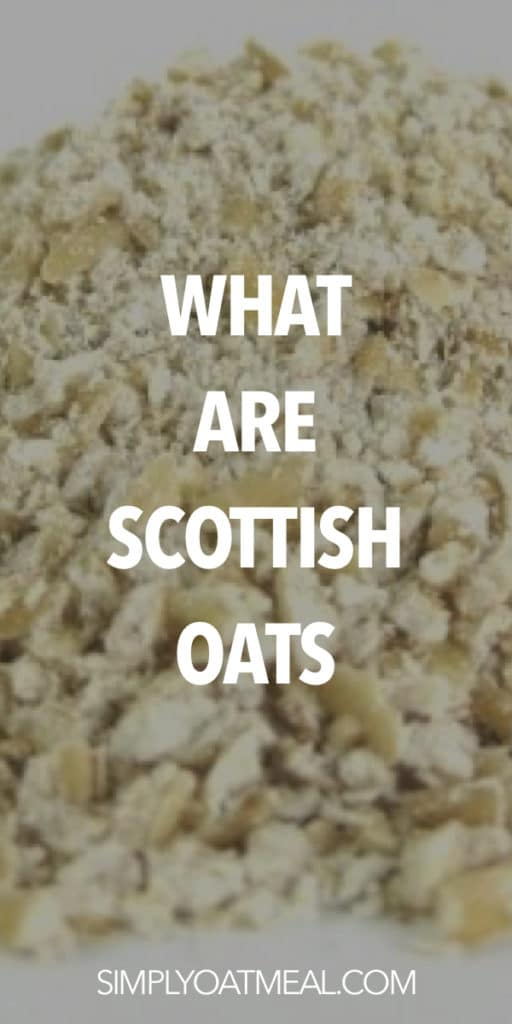 what are Scottish oats?