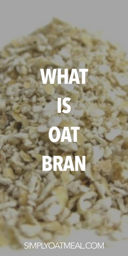 what is oat bran