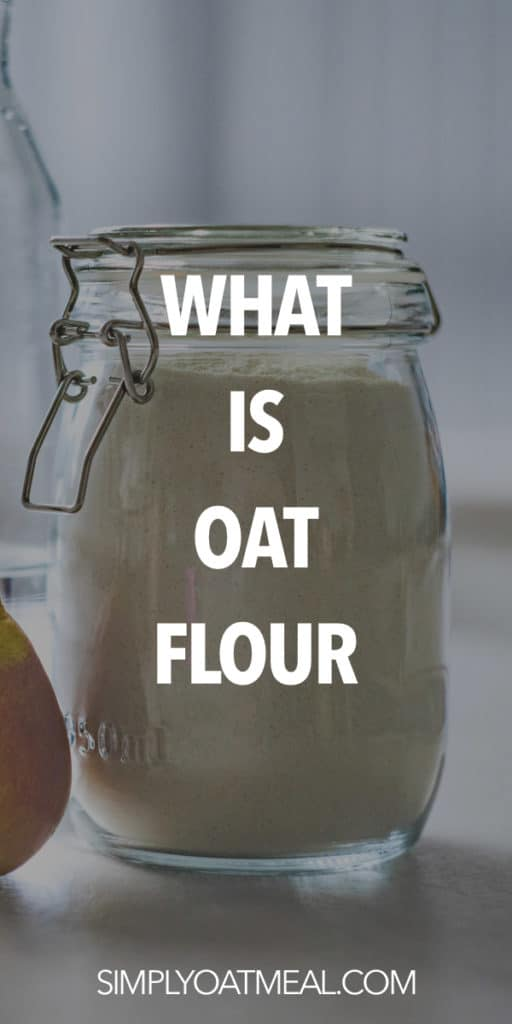 what is oat flour?