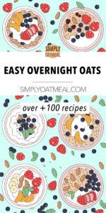Over 100 overnight oats recipes