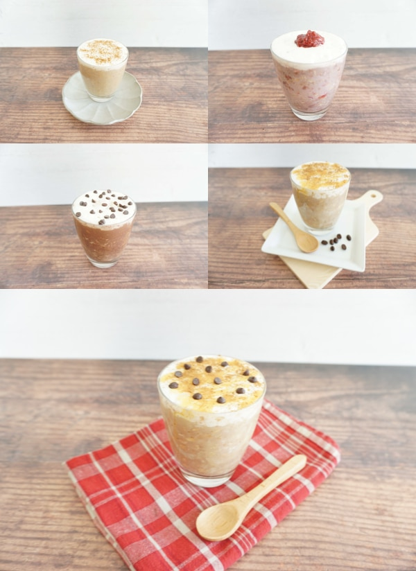 Best Starbucks drinks overnight oats