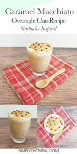 How to make caramel macchiato overnight oats