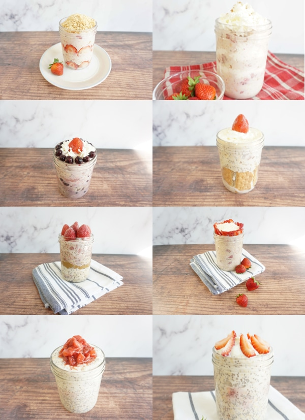 Best strawberry overnight oats recipes