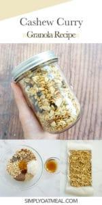 How to make cashew curry granola