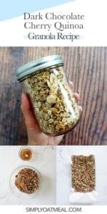 How to make chocolate cherry granola