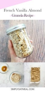How to make vanilla almond granola
