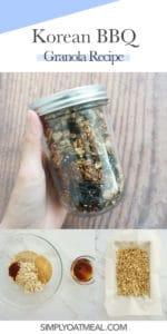 How to make Korean BBQ granola