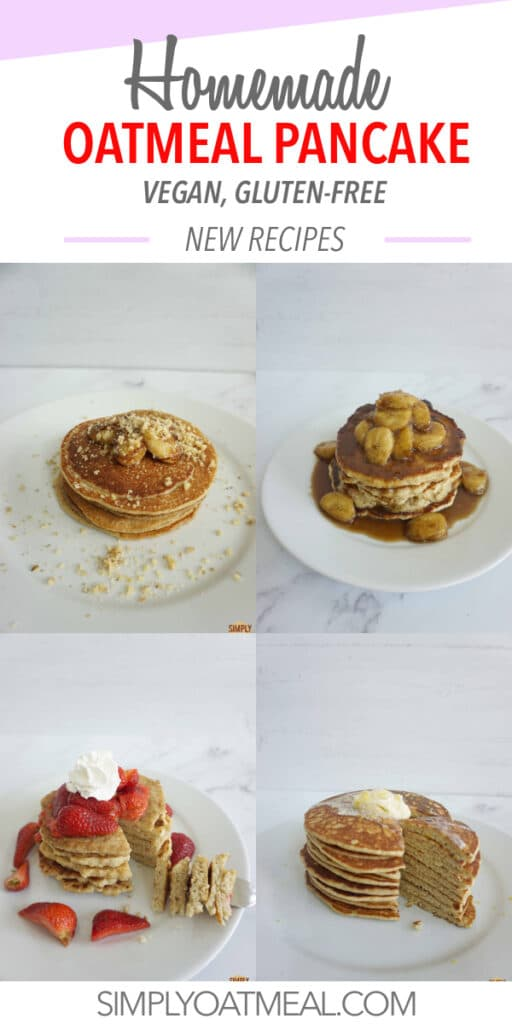 How to make oatmeal pancakes