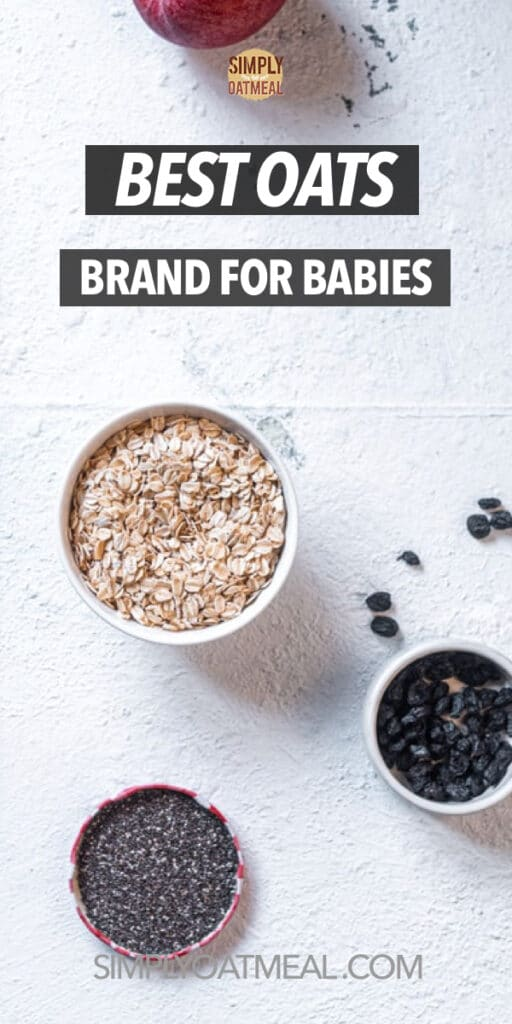 Best oatmeal brands for babies