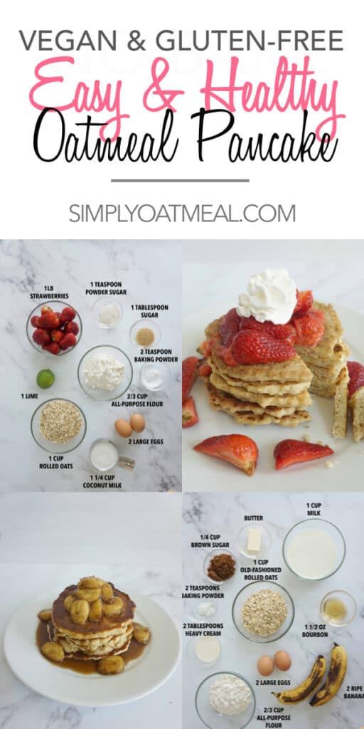 Easy oatmeal pancake recipe