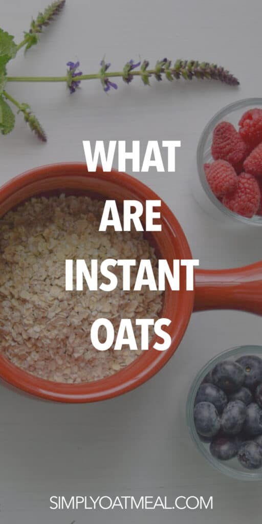 What is instant oatmeal