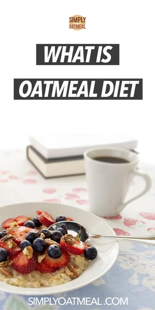 What is the oatmeal diet and will it help me to lose weight?