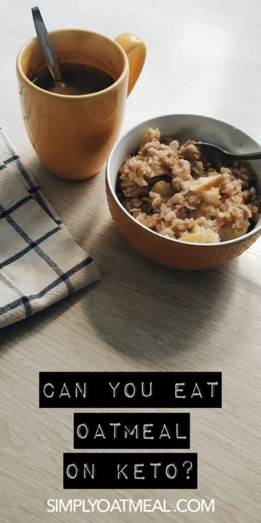 Can you eat oatmeal on a low carb diet?
