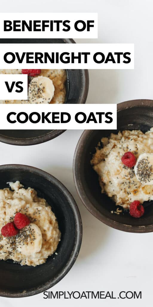 overnight oats vs cooked oats