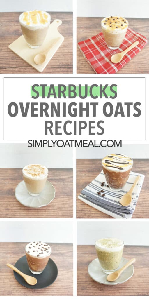 Starbucks overnight oats recipes