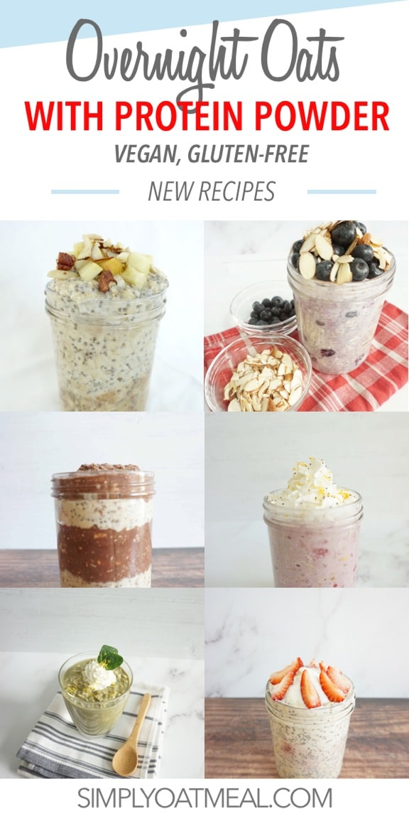 how to make overnight oats with protein powder