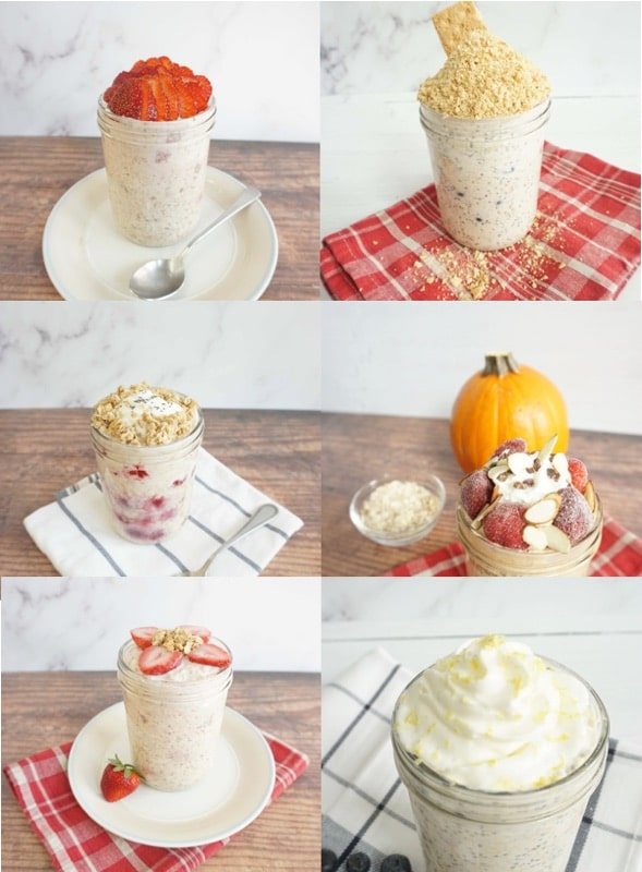How to make overnight oats with yogurt