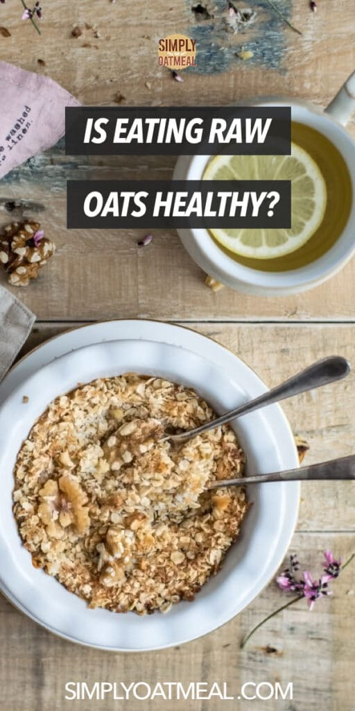 Is eating raw oats healthy
