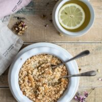 Is raw oats health to eat