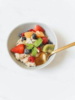 Overnight oats ratio