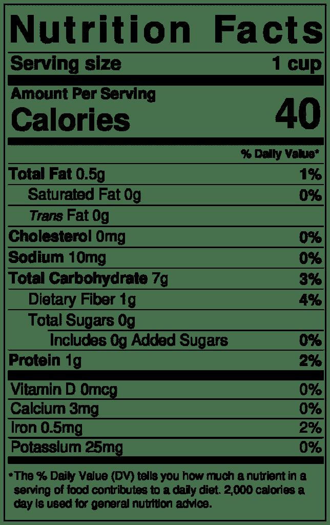 DIY oat milk nutrition info