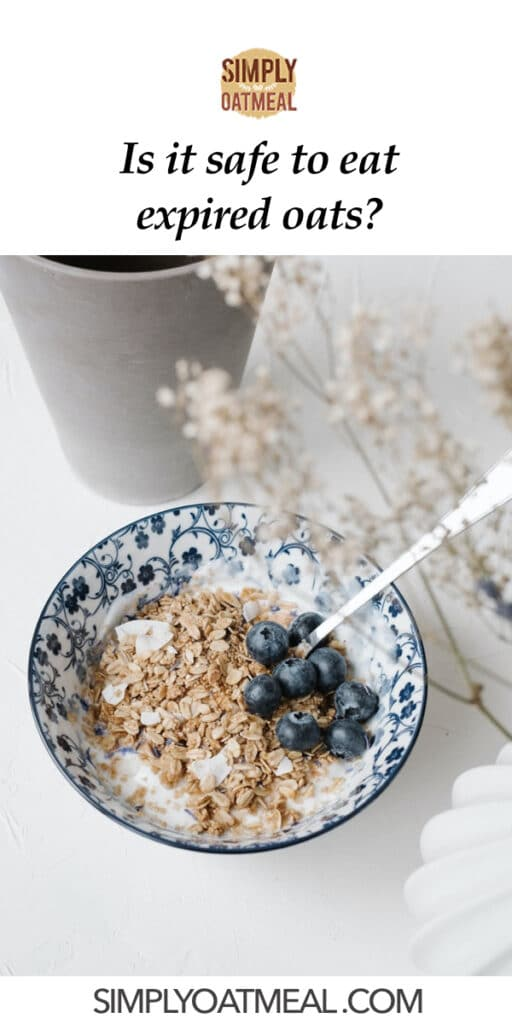 can you eat expired oats
