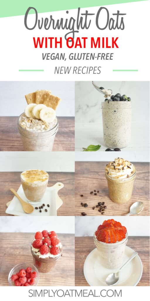 How to make overnight oats with oat milk