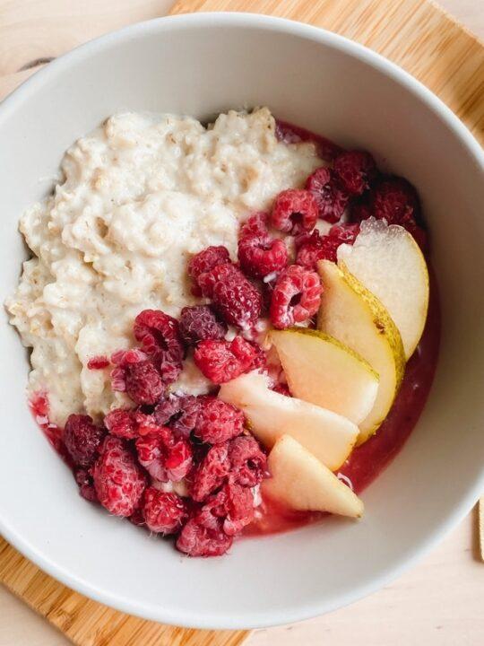 what are porridge oats