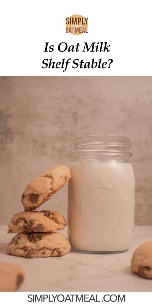 Oat milk shelf stable