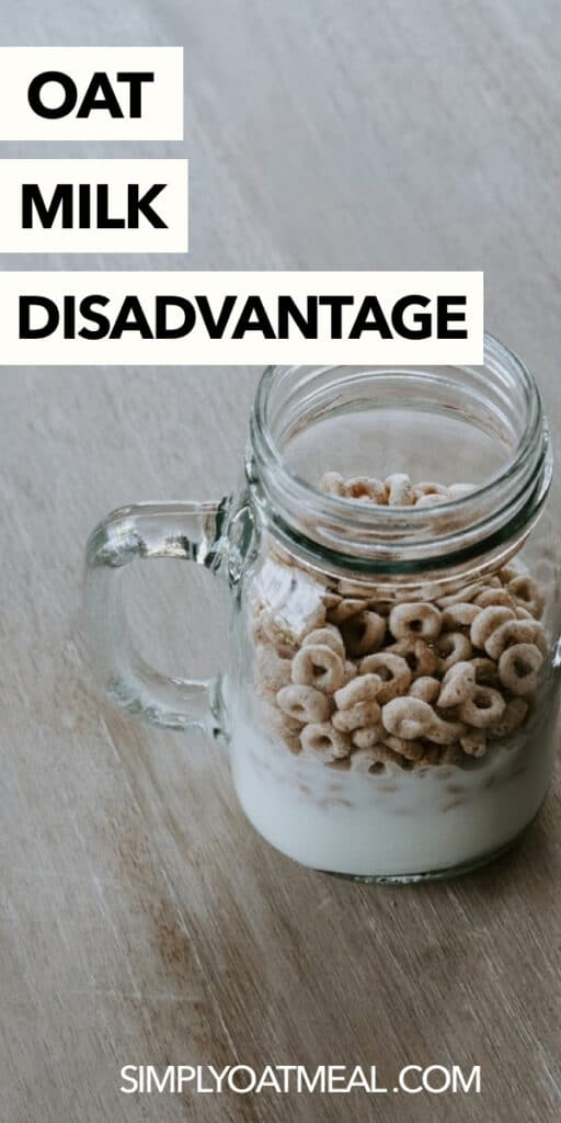 What are oat milk disadvantages