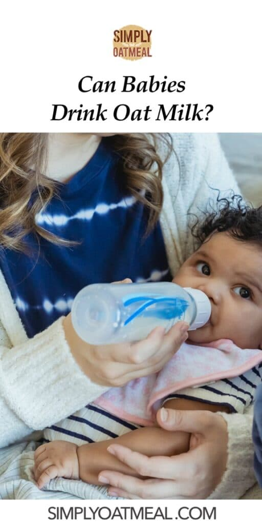 Can babies drink oat milk